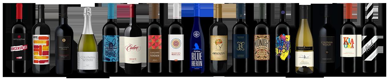 Creativino Bottle Line Up